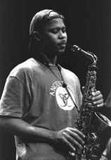 Picture of Coleman with Sax